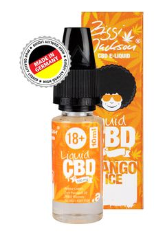 Mango on Ice CBD E-Liquid 100mg