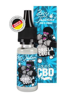 CBD Liquid Gorilla Glue Box with bottle