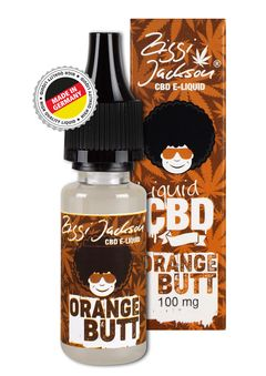 Orange Butt CBD Liquid 100-500mg 100 mg