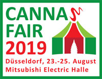 Cannafair 2019 Banner Messe